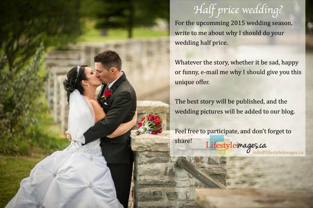 half price wedding