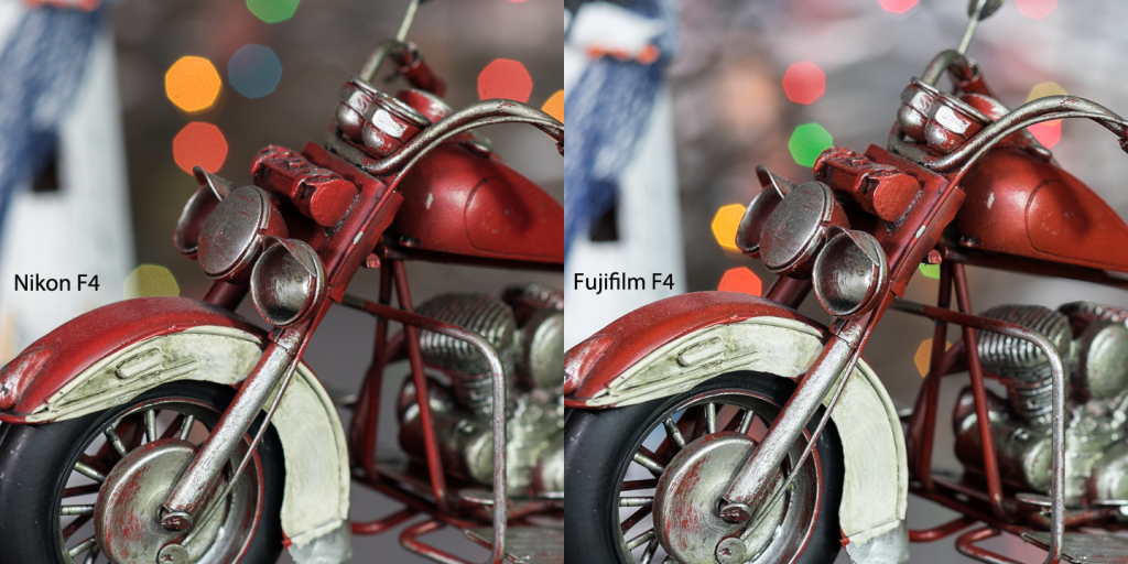 Nikkor vs Fujinon 3